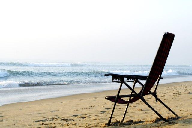 A chair in a beach