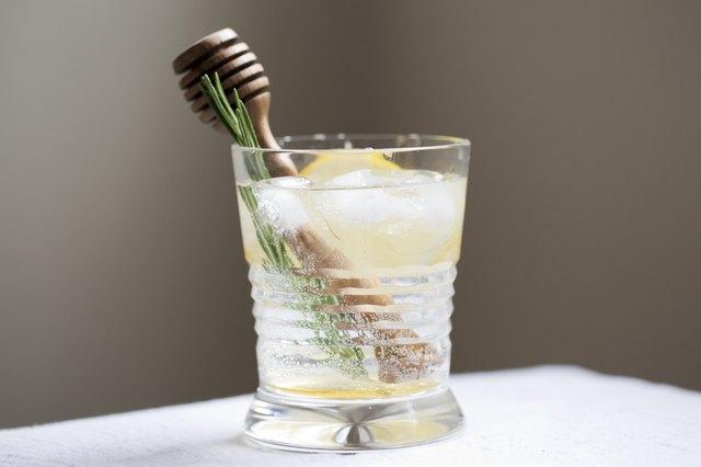 Honey Fizz Cocktail