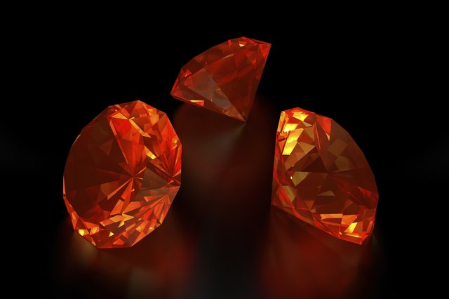 3D Fire Diamonds