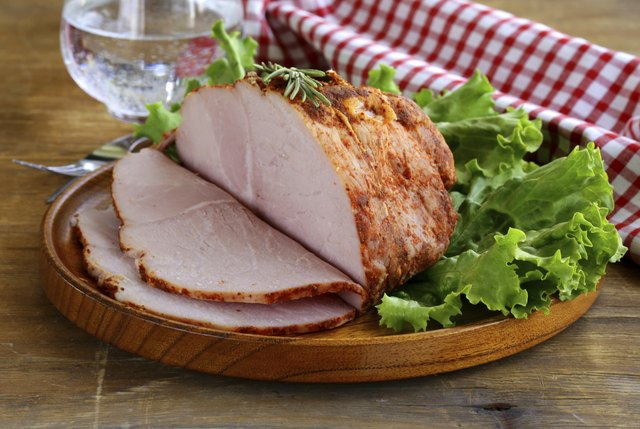 roast pork with paprika