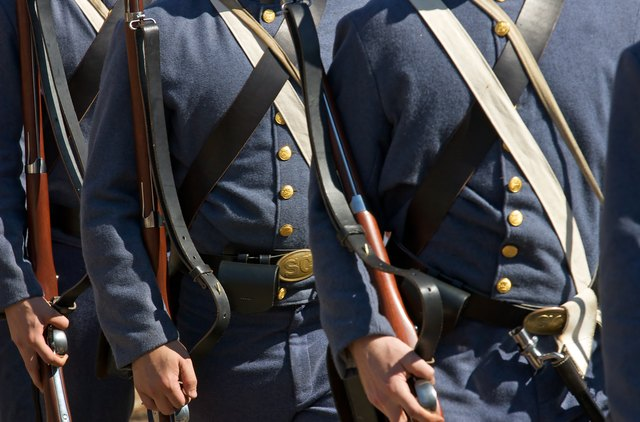 US Civil War re-enactors