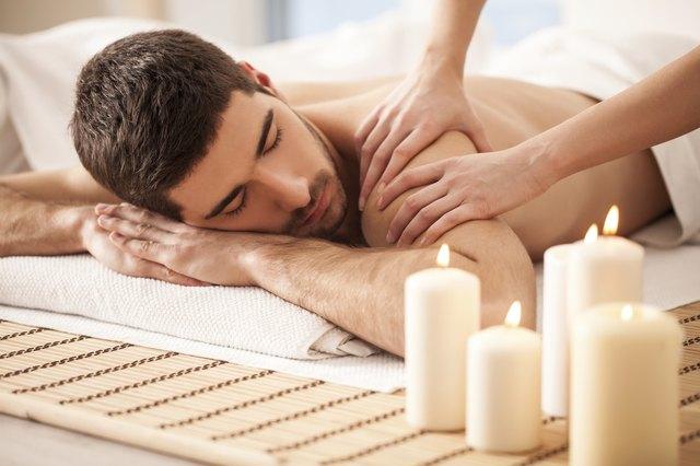 Man on a Massage