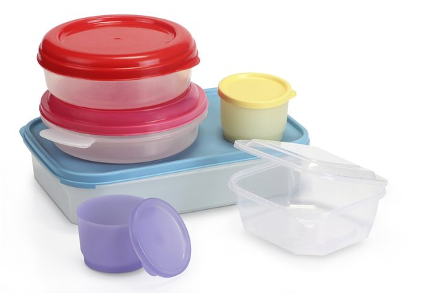 Many tupperware