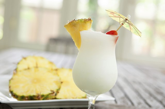 Pina Colada and Pineapple
