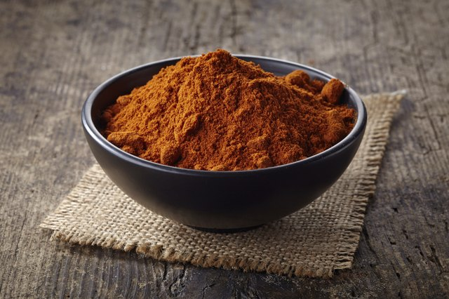 red hot chili pepper powder
