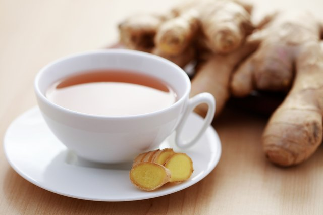 cup of ginger tea