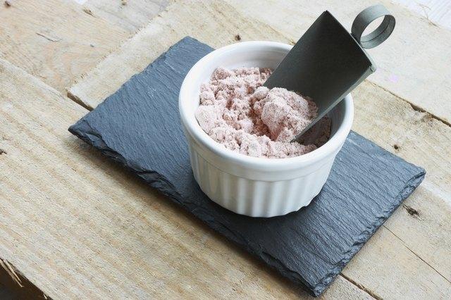 Salt in white mold