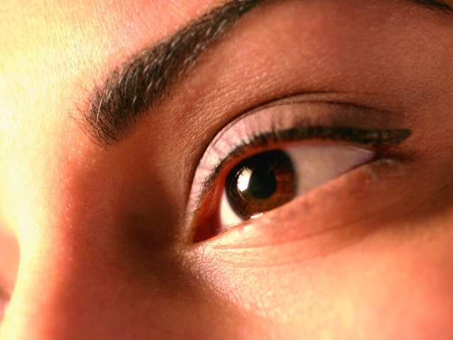 Photo, woman's eye, close-up, Color, High res