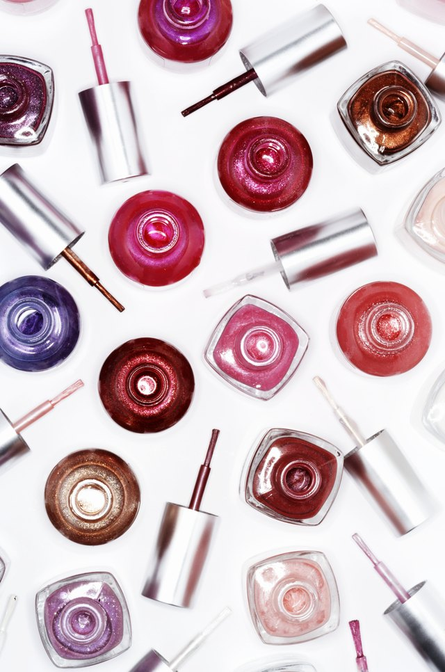 How to Make My Own Nail Polish to Sell | LEAFtv