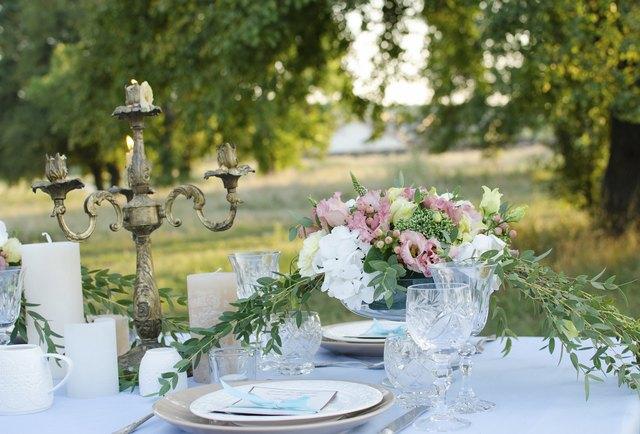 Gala Dinner in the garden
