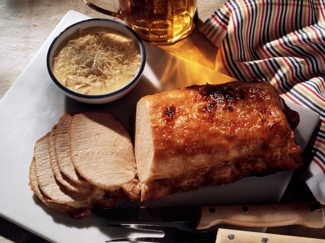 Roast Pork with Horseradish Mayonnaise