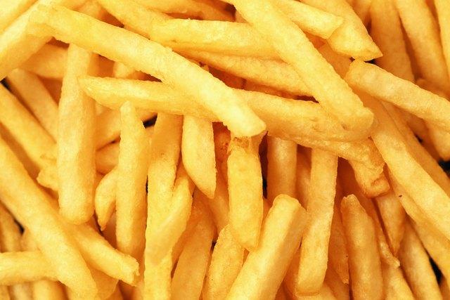 French Fries, full frame