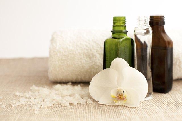Cosmetics in SPA salon