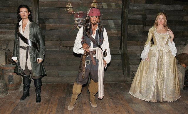 Pirates of The Caribbean interactive attraction Launched At Madame Tussauds