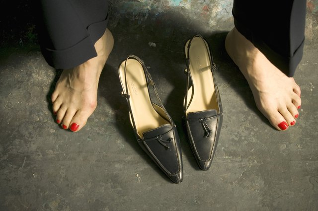 Woman's feet and shoes