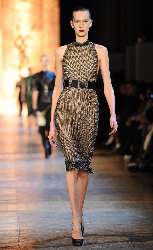 Yves Saint-Laurent: Runway - Paris Fashion Week Womenswear Fall/Winter 2012