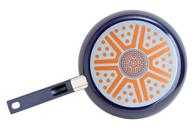 Bottom of frying pan