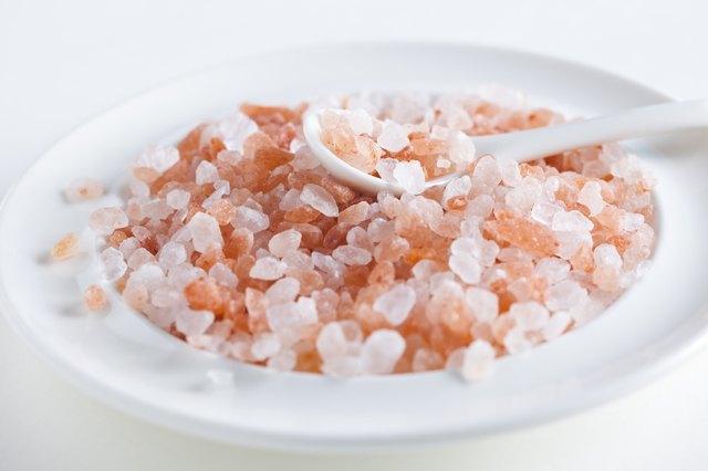 Himalayan pink salt from Pakistan