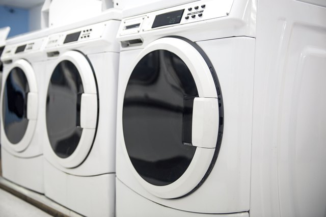 Washers in a Laundromat