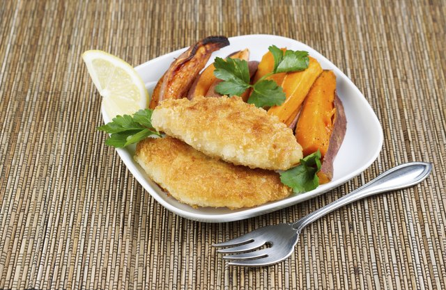 Healthy Fish and Chips
