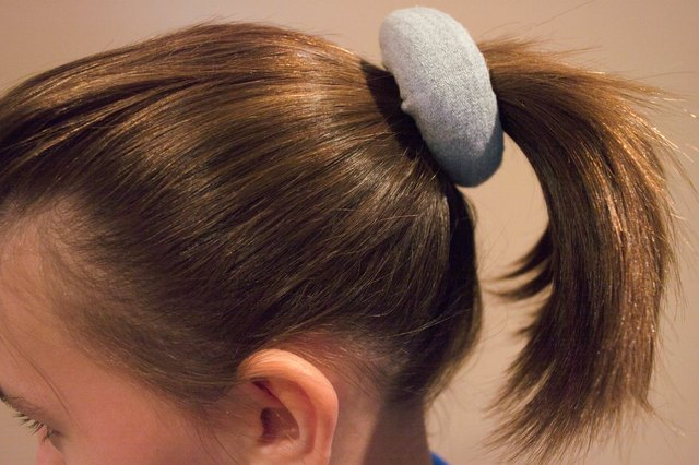 Hold The Foam Donut Against Ponytail And Pull Hair Through Center Will Serve As A Base Filler For Bun