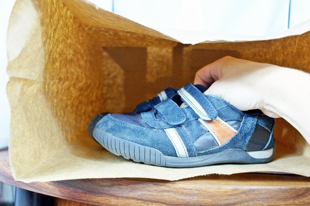 Place The Shoes In A Paper Bag With Some Charcoal Overnight This Treatment Will Absorb Smells And Airborne Chemical Residue