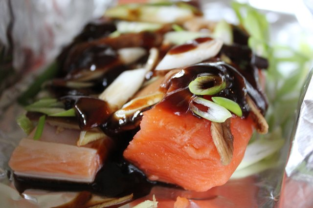 How do i cook frozen salmon filets leaftv for How long do you cook fish in the oven