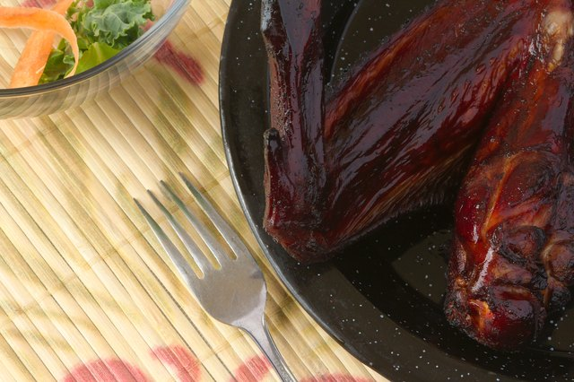 how to cook smoked turkey wings