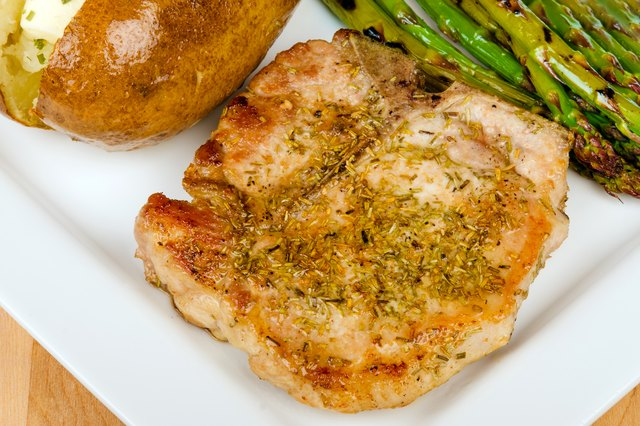 The Key To A Moist And Juicy Pan Fried Pork Chop Is To Sear It Searing Locks In The Flavor And Natural Juices