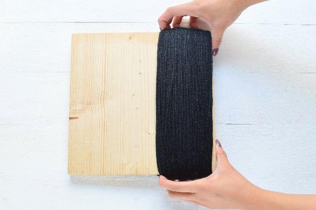 Carefully remove the yarn