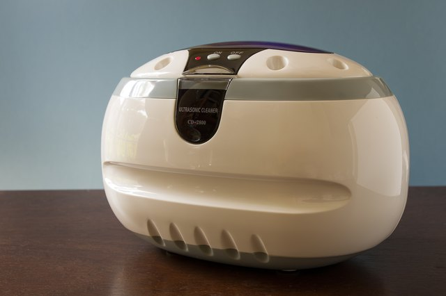 how to make a homemade ultrasonic cleaning solution