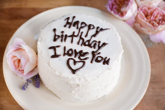 What to write on a birthday cake leaftv a heartfelt message can come from a parent child relative or significant other a romantic cake might say i love you or each year i love you more publicscrutiny Gallery