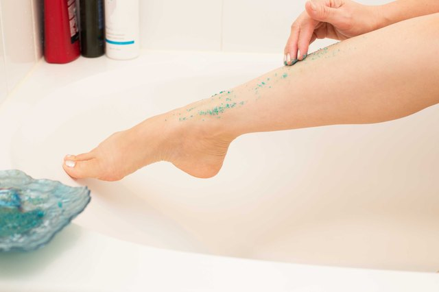 How to exfoliate the legs leaftv ccuart Image collections