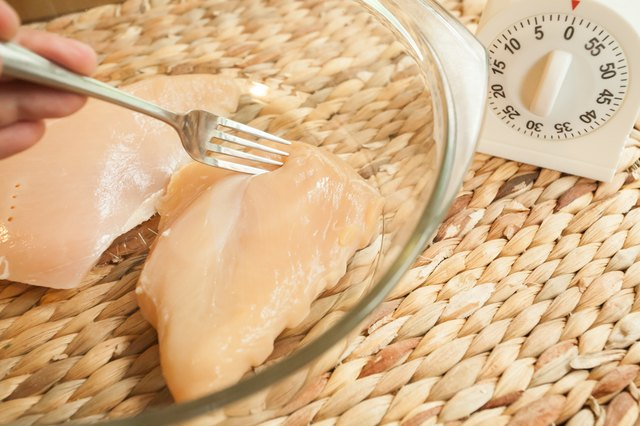 Chicken Breasts Can Also Be Thawed In The Microwave Place The Frozen Breasts In A Microwave Safe Bowl And Heat On The Defrost Setting For Two Minutes