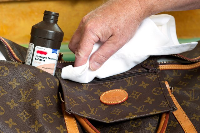 How To Remove Ink From Leather >> How to Care for and Repair a Louis Vuitton Handbag | LEAFtv