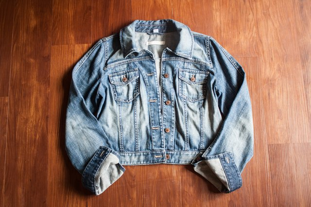 How to Make a Denim Jacket Into a Vest | LEAFtv