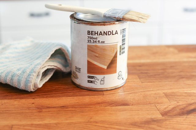 How To Apply Behandla To A Butcher Block Leaftv