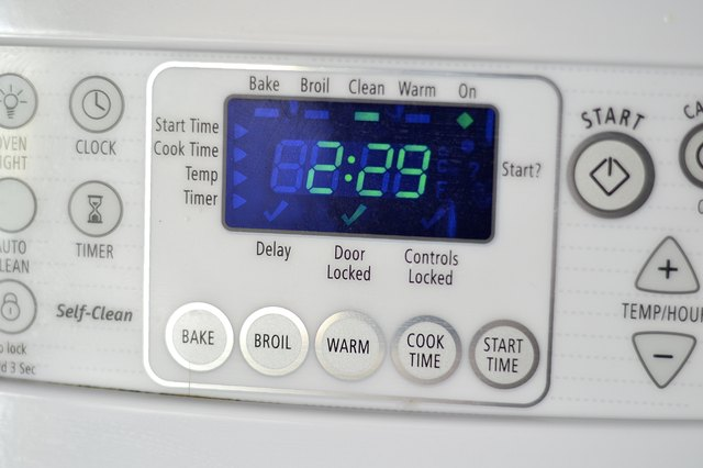 How To Clean A Whirlpool Self Cleaning Oven Leaftv