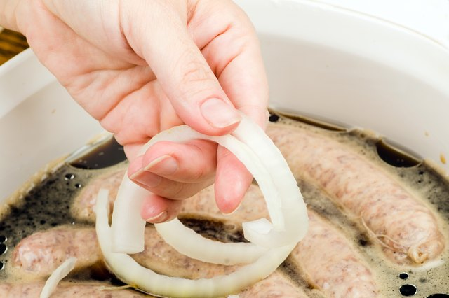 how to bake bratwurst