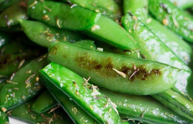 Sugar snack peas