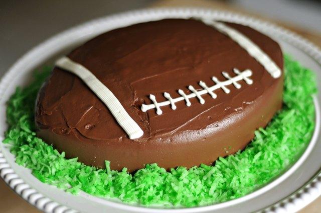 American Football Cake Tutorial